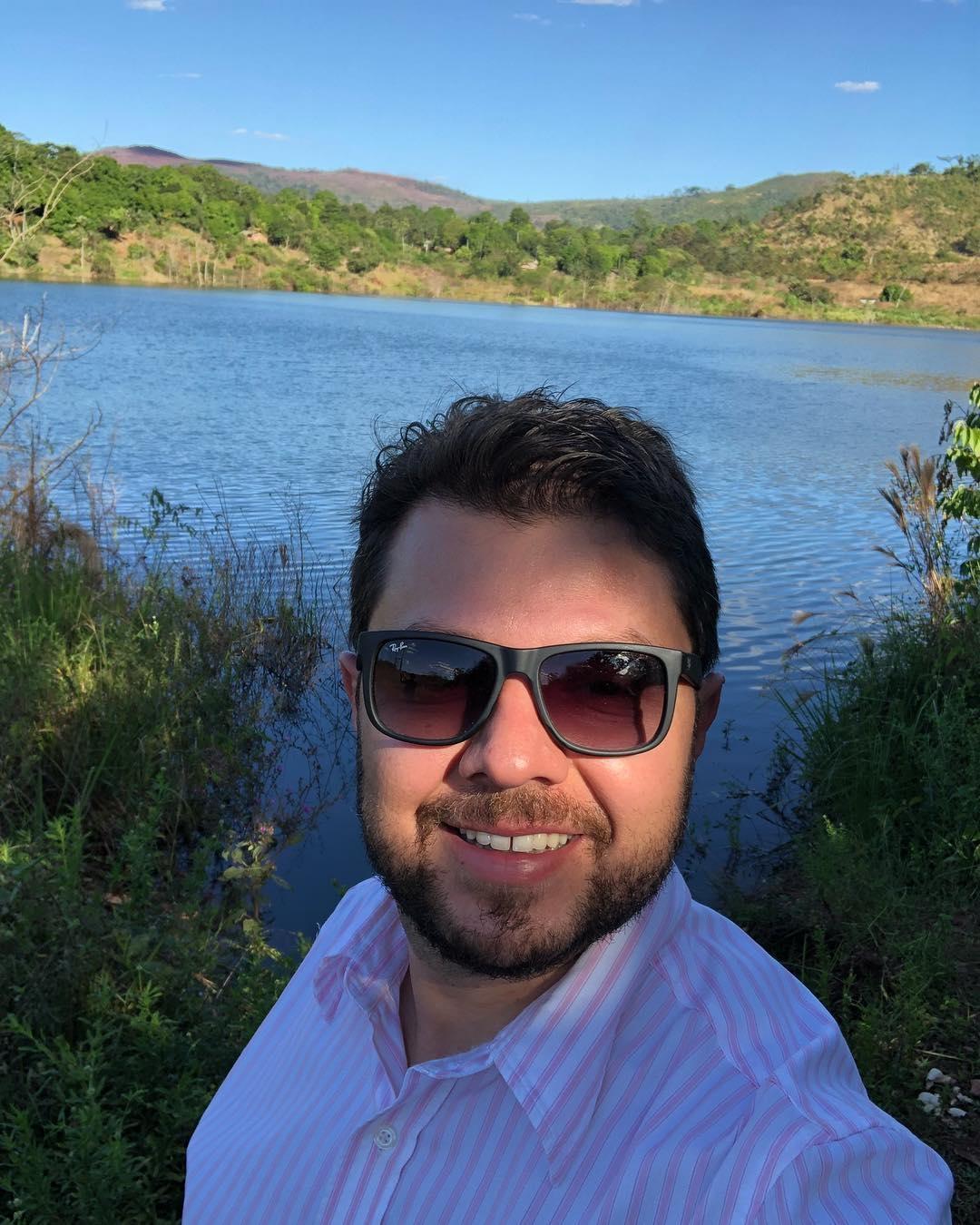 Deivson Vidal visita a implantação do projeto Serra Pelada