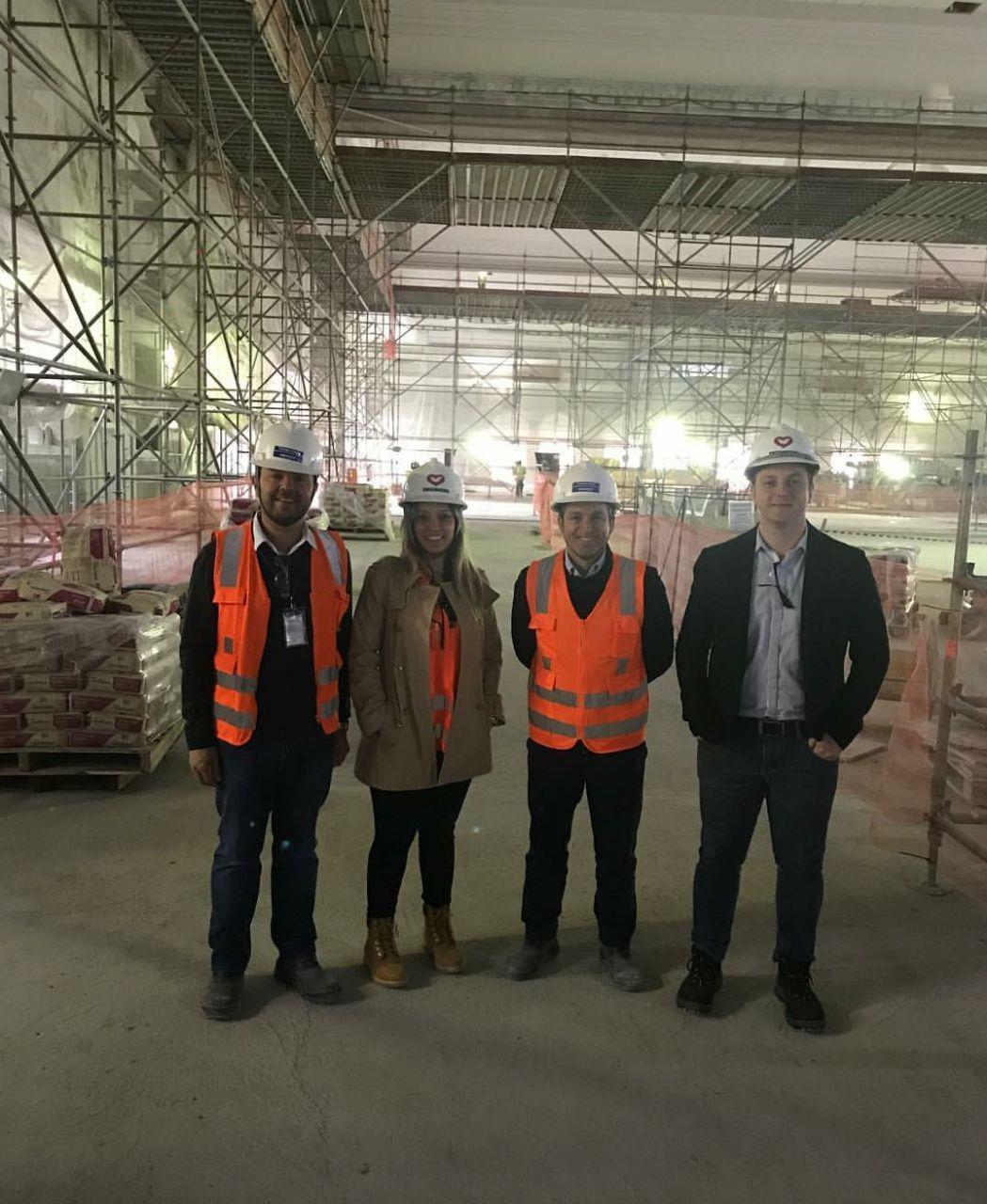 Deivson Vidal visita empreendimento em Curitiba