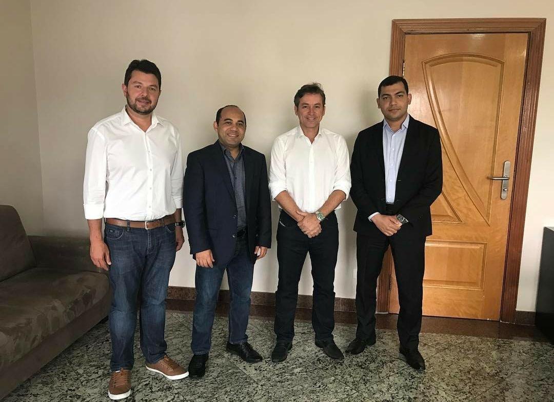 Deivson Vidal em Reunião de Parceria com o Grupo Universal
