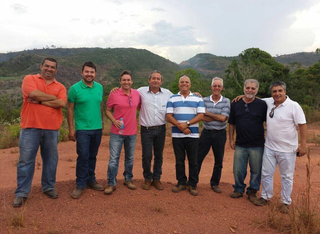 Deivson Vidal coordena visita em Parauapebas