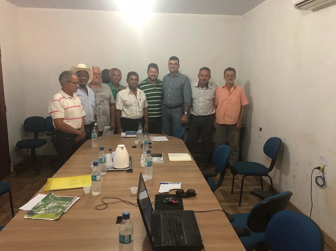 Deivson Vidal apresenta implantação e operação de projeto mineral