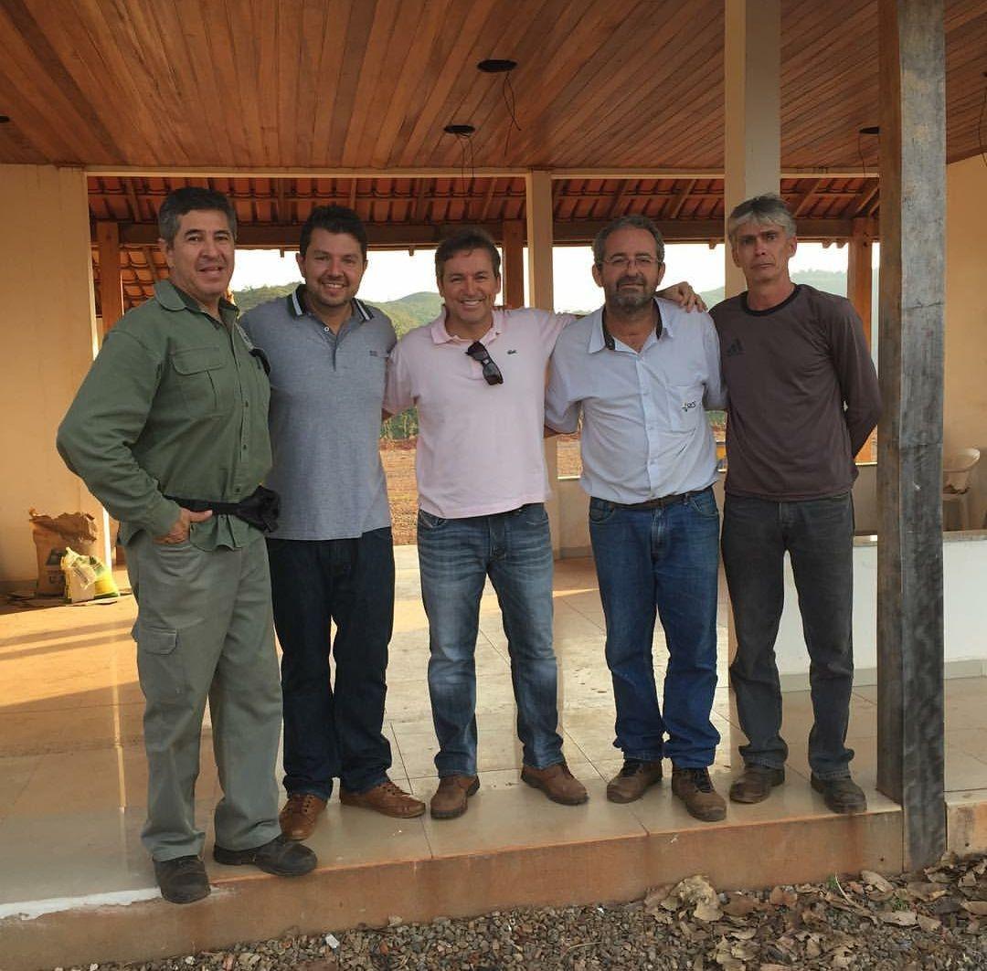 Deivson Vidal em Visita ao Projeto Mineração
